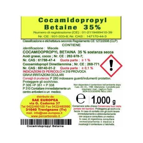 Cocoamidopropilbetaina 1 kg