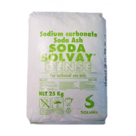 Soda Solvay - sacco da 25 kg