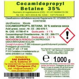 Cocoamidopropilbetaina  - flacone da 1 kg