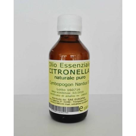 Olio Essenziale CITRONELLA NATURALE PURO - 100 ml